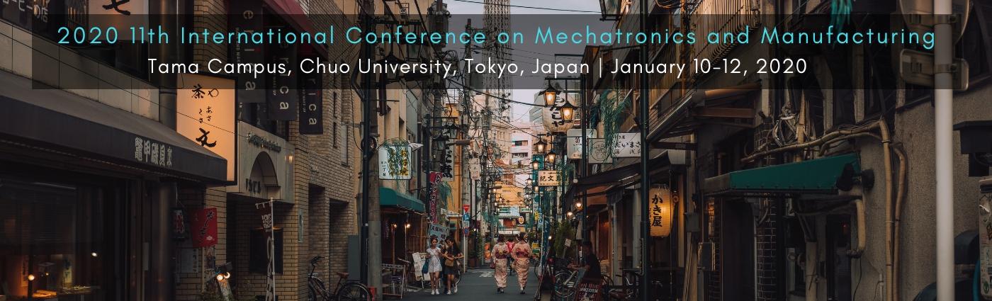 ICMM 2020| Mechatronics and Manufacturing - Tokyo